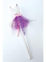 Child Glitter Rapunzel Wand