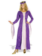Maid Marion Ladies Purple Costume
