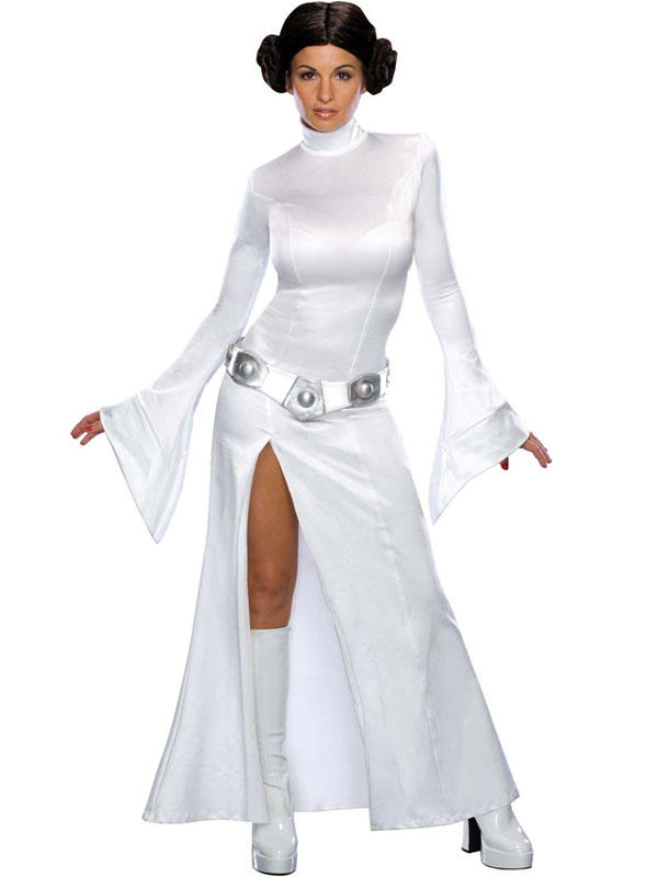 Star Wars Princess Leia Sexy Costume Thumbnail 2