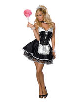 Ladies Sexy French Maid Costume