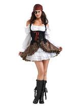 Ladies Sexy Stylish Pirate Costume