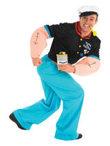 Popeye The Sailor Man Men's Costume