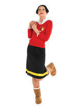 Olive Oyl (Popeye) Ladies Costume