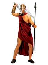 300 Spartan Warrior Men's Fancy Dress Costume