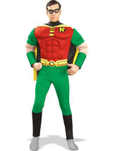 Robin (Batman) Muscle Chest Men's Costume