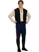 Star Wars Han Solo Men's Costume (Std&XL)