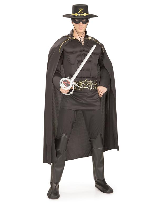 Zorro Men's Deluxe Costume