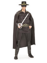Zorro Men's Deluxe Costume