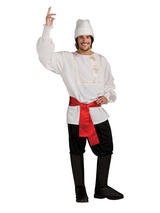 Male White Russian Costume
