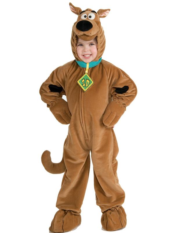 Scooby Doo Deluxe Boy's Costume