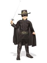 Zorro Boy's Deluxe Costume