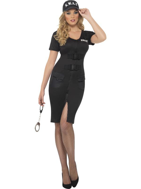 45881351145 Adult Ladies US SWAT Team Costume | Plymouth Fancy Dress, Costumes ...