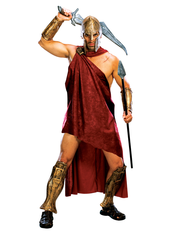 300 Spartan Warrior Men's Deluxe Fancy Dress Costume