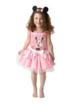 Childs Minnie Pink Ballerina Costume