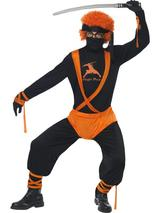 Adult Men's Ginger Ninja Superhero Costume