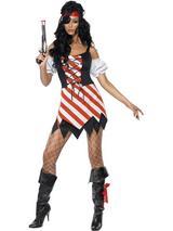 Adult Ladies Sexy Pirate Girl Costume