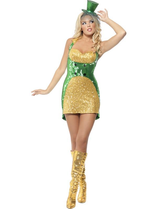 Fever Adult Ladies Sexy St Patricks Day Costume Around The World