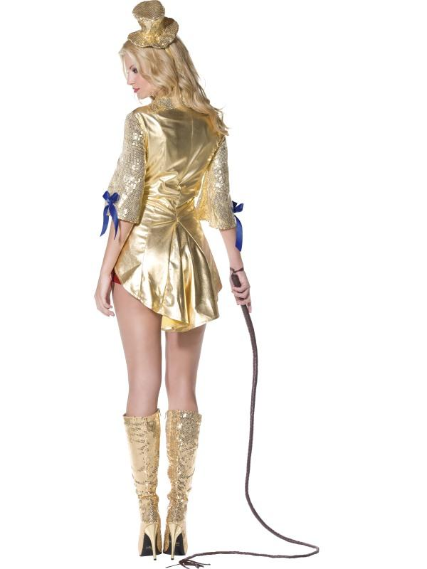 Adult Ladies Sexy Circus Ring Leader Costume Thumbnail 4