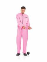 Pink Prisoner Costume & Handcuffs