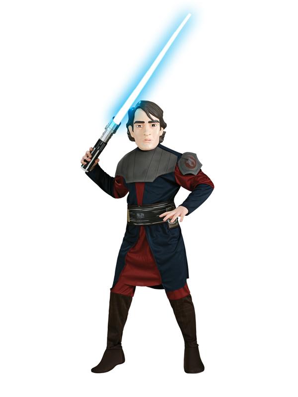 Enfant-Star-Wars-Anakin-Skywalker-Kids-jedi-knight-  sc 1 st  eBay & Child Star Wars Anakin Skywalker Kids Jedi Knight Fancy Dress ...