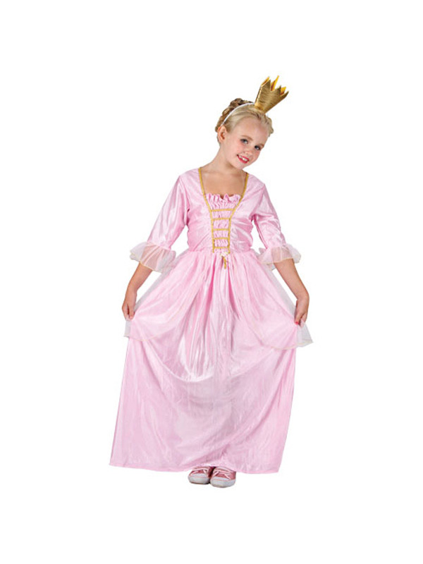 Child Pink Pretty Princess Costume