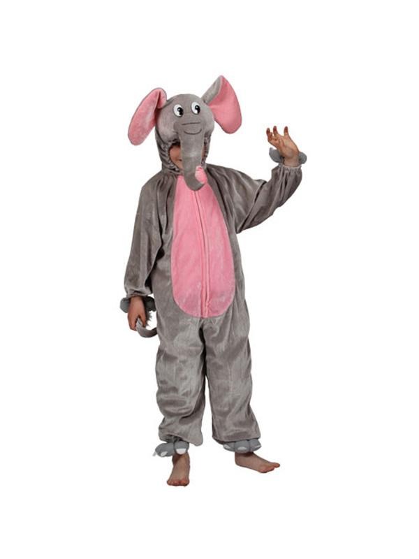 Boy's Elephant Jumpsuit Costume