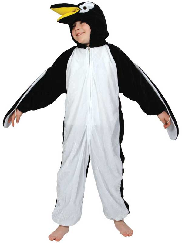 Boy's Penguin Jumpsuit Costume