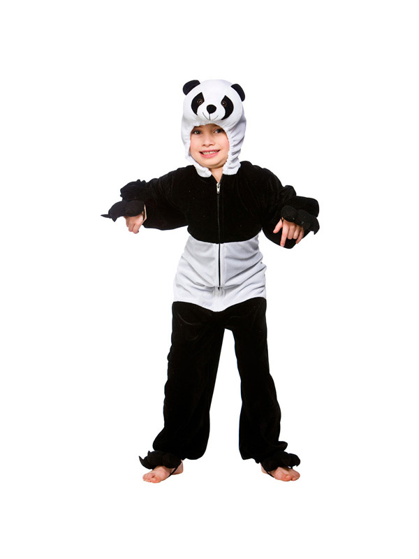 Boy's Panda Jumpsuit Costume