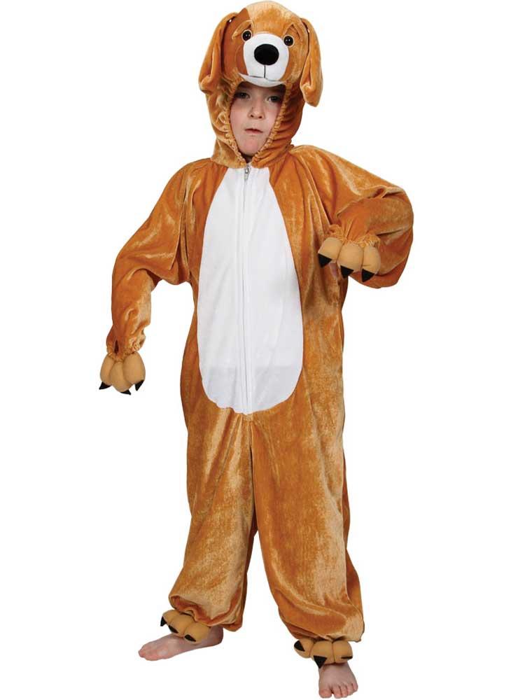 Boy's Puppy Dog Jumpsuit Costume