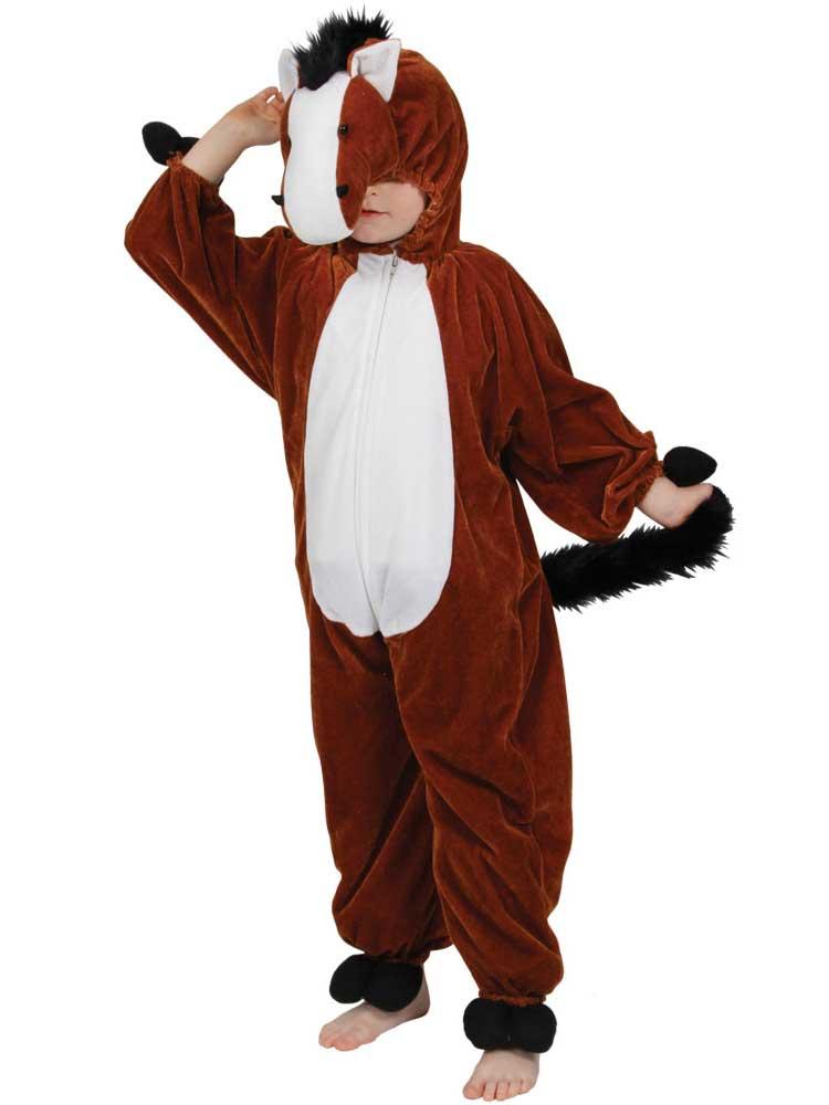 Boy's Horse Jumpsuit Costume