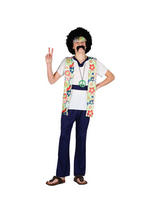 Child Peace Man Hippie Costume