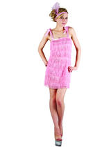 Showtime Flapper Girl Pink Costume
