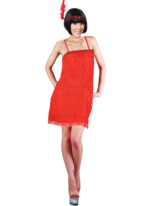 Ladies 1920s Charleston Flapper Girl Costume