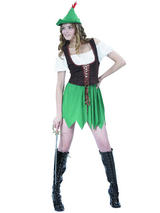 Ladies Sexy Robin Hood Costume