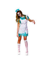 Ladies Bloody Zombie Nurse Costume