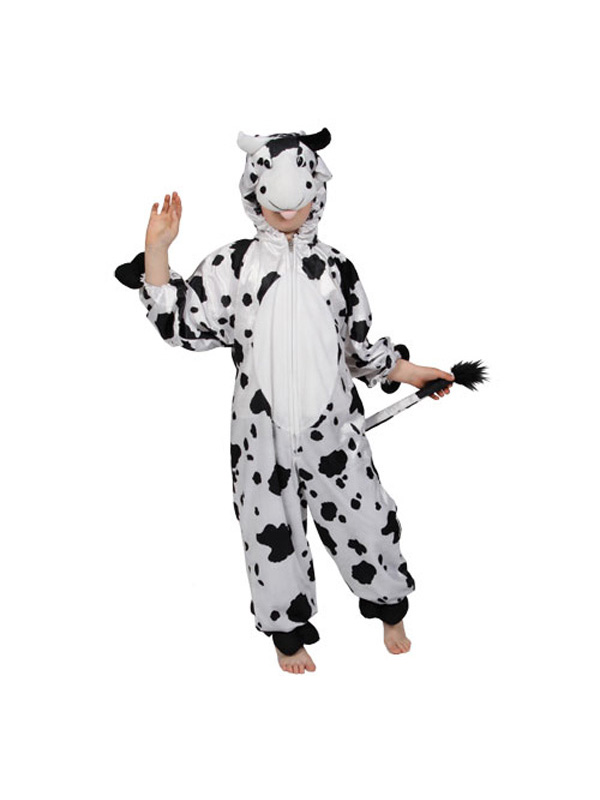 Boy's Crazy Cow Jumpsuit Costume