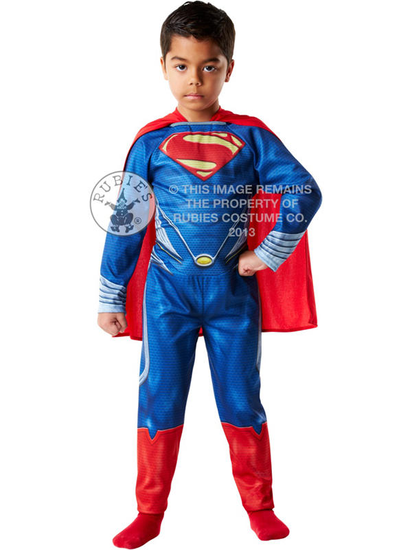 Superman Man Of Steel Boy's Costume Thumbnail 2