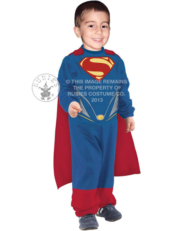 Superman Man Of Steel Boy's Costume Thumbnail 3