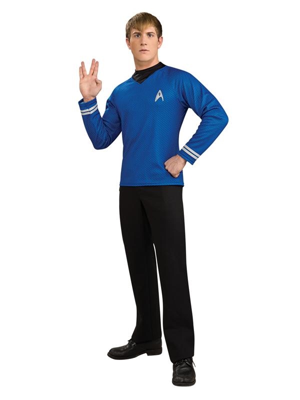 Star Trek Mr Spock Men's Official Deluxe Top