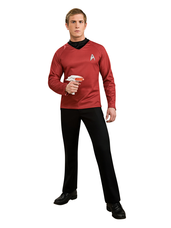 Star Trek Scotty Men's Official Deluxe Top