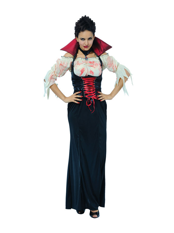 Ladies Black Temptress Dracula Costume