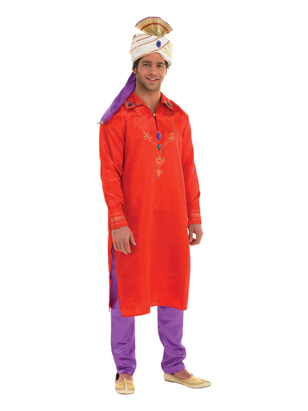 Men S Red And Purple Bollywood Costume Plymouth Fancy