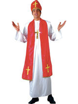 Men's Holy Cardinal Costume