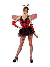 Ladies Lovely Ladybug Costume