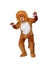 Men's Lion Jumpsuit Costume
