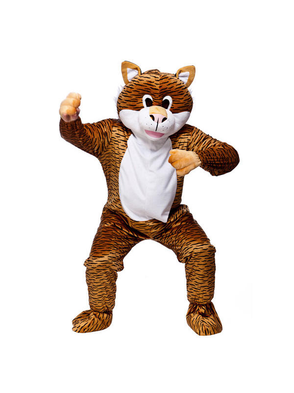 Men's Terrific Tiger Jumpsuit Costume