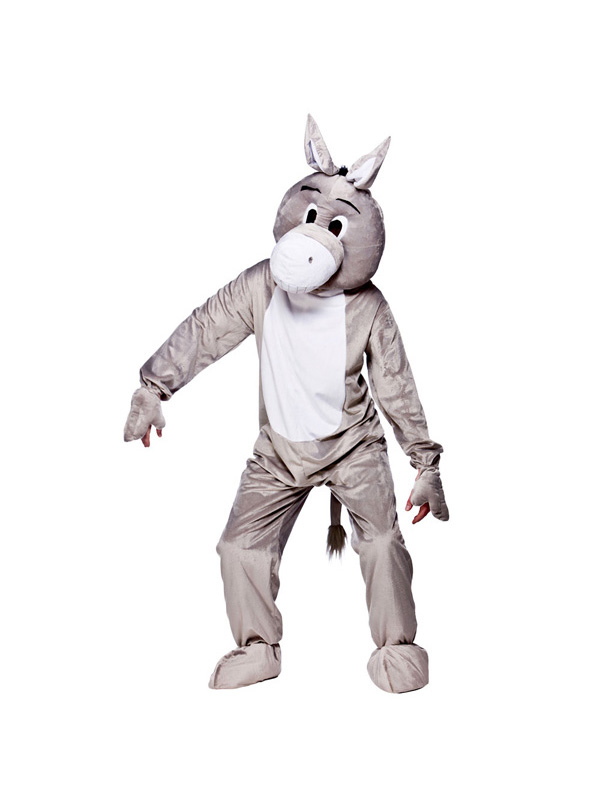 Men's Dozy Donkey Jumpsuit Costume