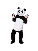 Men's Giant Panda Bear Jumpsuit Costume