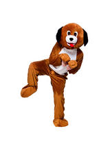 Men's Playful Puppy Dog Jumpsuit Costume