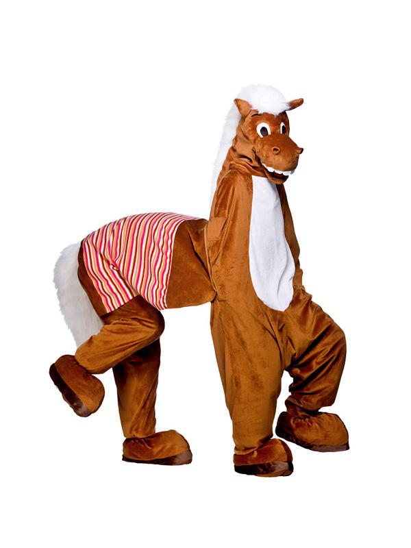 Panto Horse Man Mascot Costume